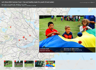 storymap, GIS, summer food, youth programs, summer programs, cambridge, ma