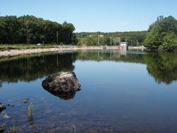 Hobbs Brook Reservoir.
