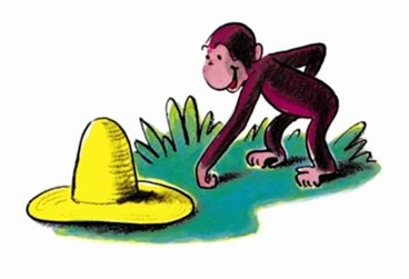 Curious George and the yellow hat