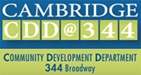 Cambridge Community Development Department Logo