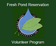 Fresh Pond Reservation Volunteer Program Logo