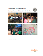 Cambridge Conversations Final Report cover