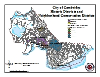 Historic Consirvation Districts, Cambridge