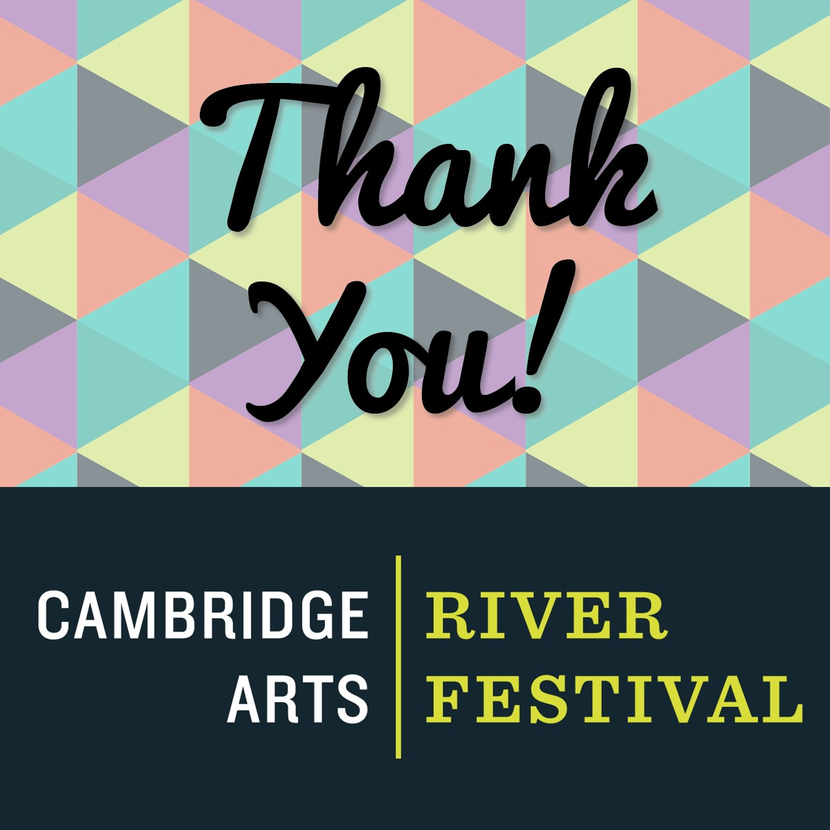 Thank You From Cambridge Arts