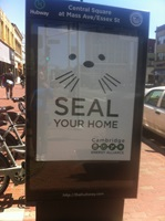 Seal Your Home Hubway Station
