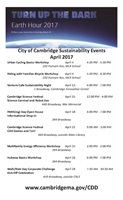 Earth Day Events Poster Image
