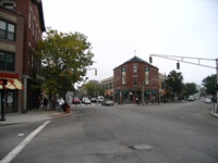 Inman Square, Hampshire and Cambridge Street Connection