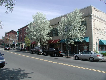 Hampshire Street Storefronts