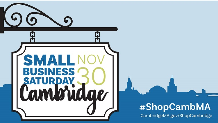 Small Business Saturday 2020.Small Business Saturday Nov 30 2019 City Of Cambridge Ma