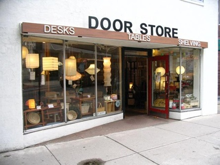 Door Store Facade after the Program