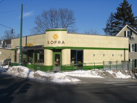 Sofra Bakery Facade after the Program