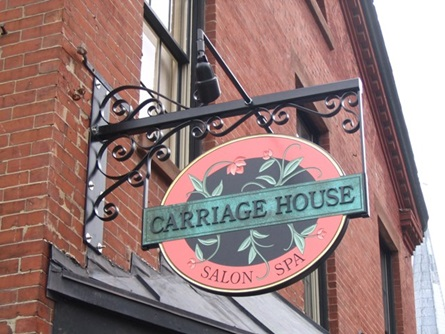 Carriage House Salon Signage Photo