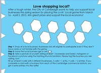 This is a picture of the Lovin' Local Card