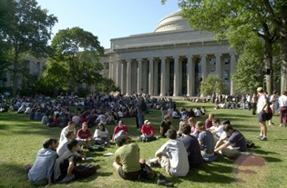 MIT Killian Lawn