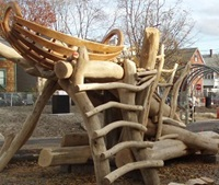 Playstructure at Alberico Park - November 2012