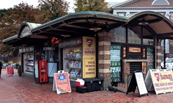 Harvard Square Kiosk / Out of Town News