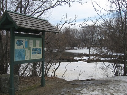 Blair Pond Information Board