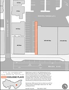 Location Map of Coolidge Place Proposed Disposition