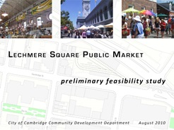 Cover of Lechmere Public Market report