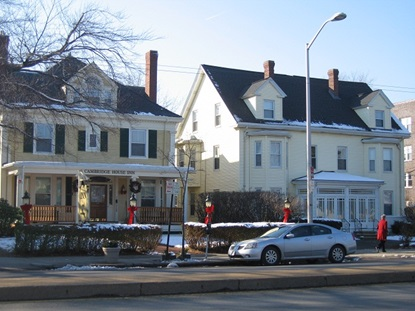 Historic properties on North Mass Ave