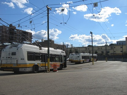 MBTA Trolley Yard