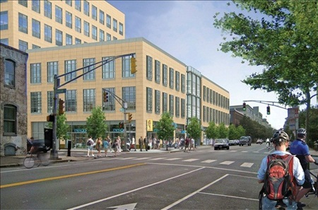 MIT Investment Company building for Pfizer on Main Street
