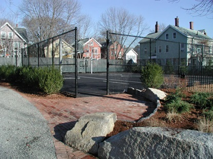Dana Park basketball court