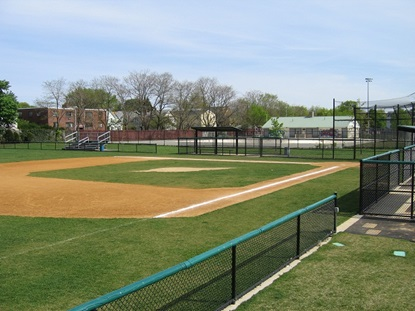 Samp Baseball Field at Russell Field