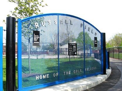 Entrance to Russell Field