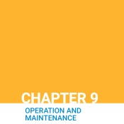 Chapter 9: Operation and Maintenance