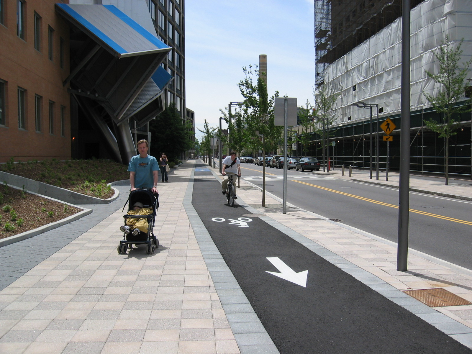 Separated Bicycle Facility Cdd City Of Cambridge