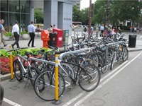 accommodating bicycle and pedestrian travel