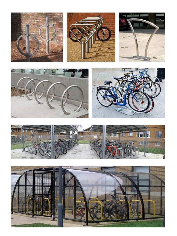 Approved Bicycle Racks