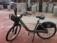 Hubway bike