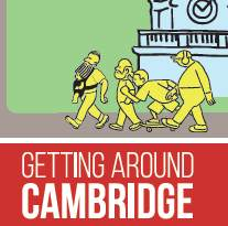 Small image of Getting Around Cambridge Map Cover