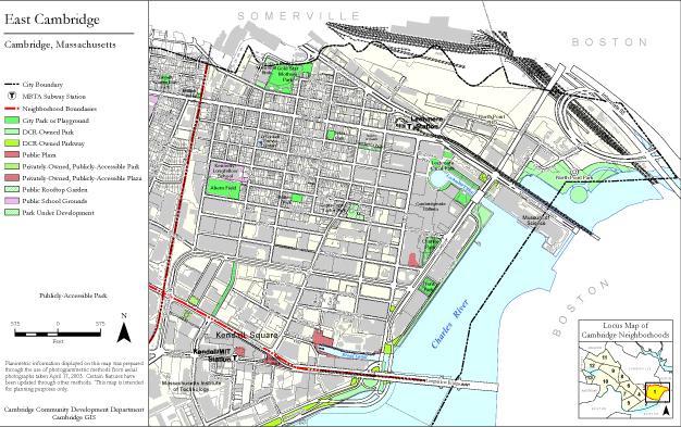 Neighborhood Map Gallery - CDD - City of Cambridge