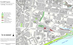 map of kendall square