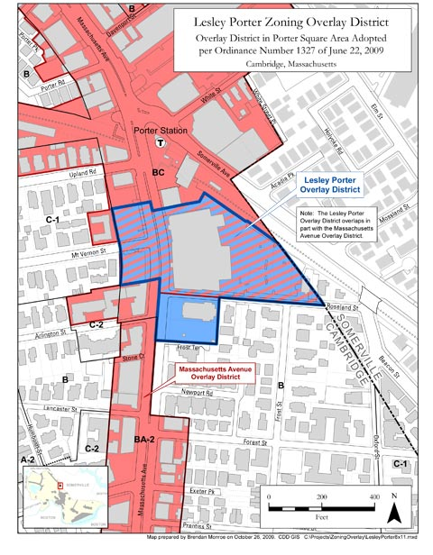 Lesley Porter Overlay Zoning District