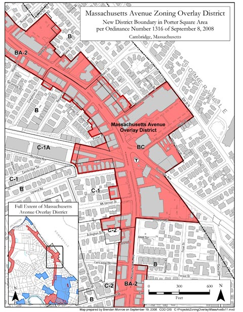 Massachusetts Avenue Overlay District: Porter Square