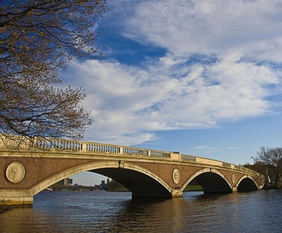 Footbridge on Charles River