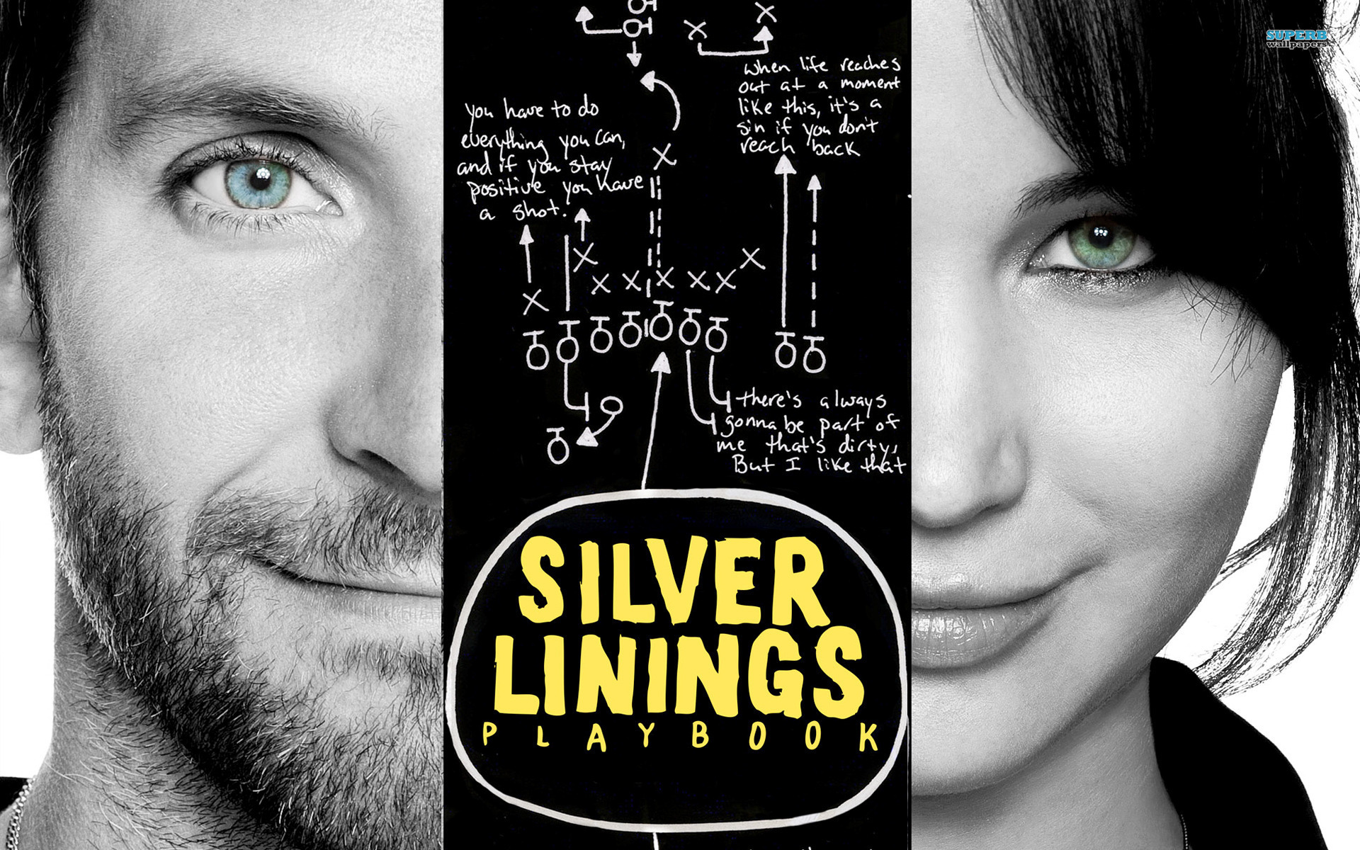 Cover art for the film Silver Linings Playbook