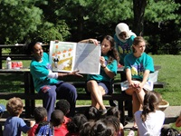 storytelling in the park