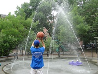 water play in the park