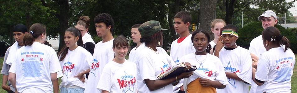 MSYEP youth at summer event
