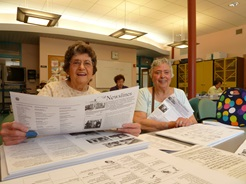 Volunteers at Senior Center