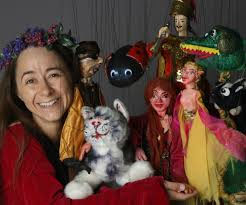 photo of Rosalita and Puppets