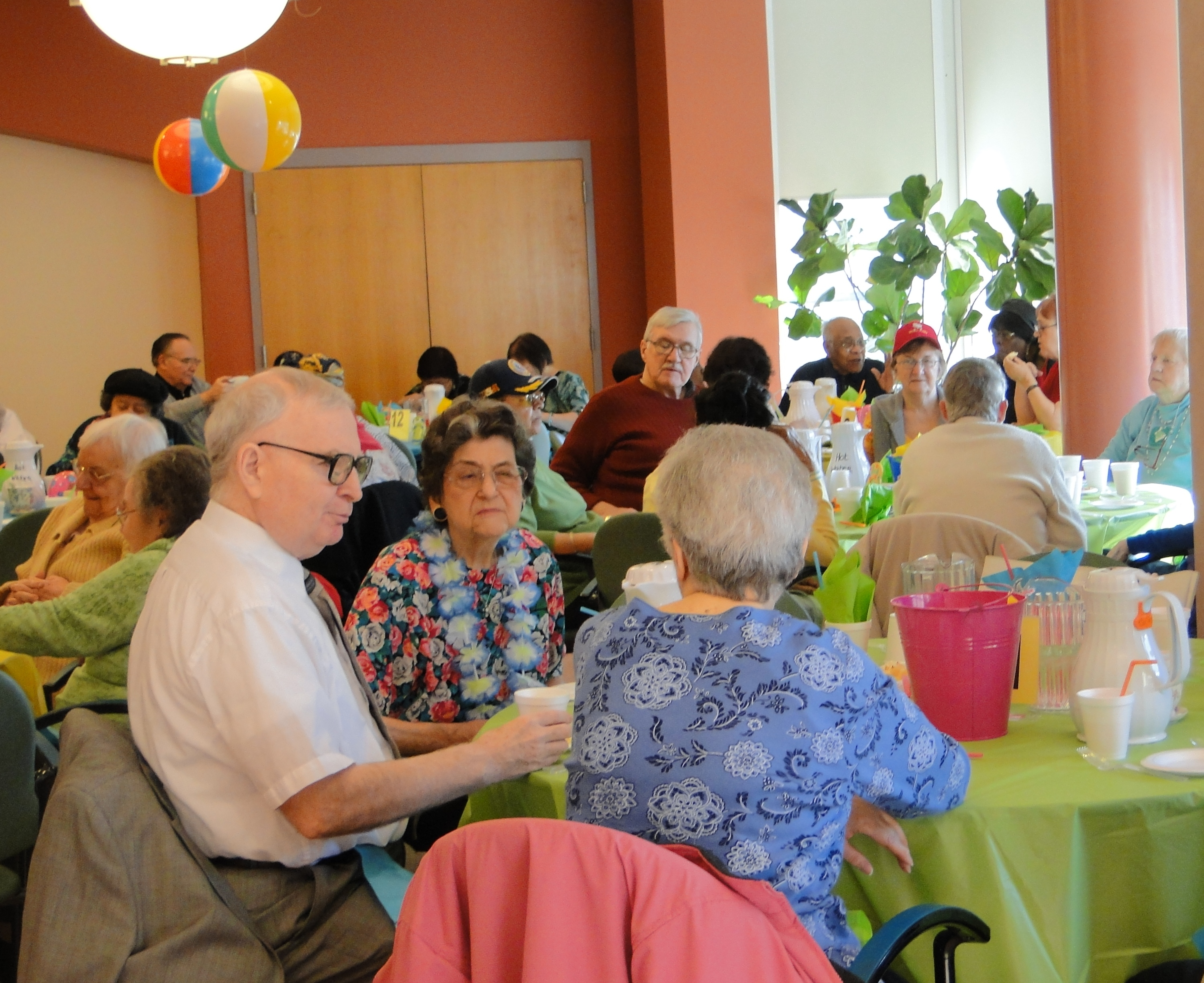 Senior Center Party photo