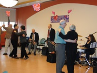 Seniors Dancing at a Party