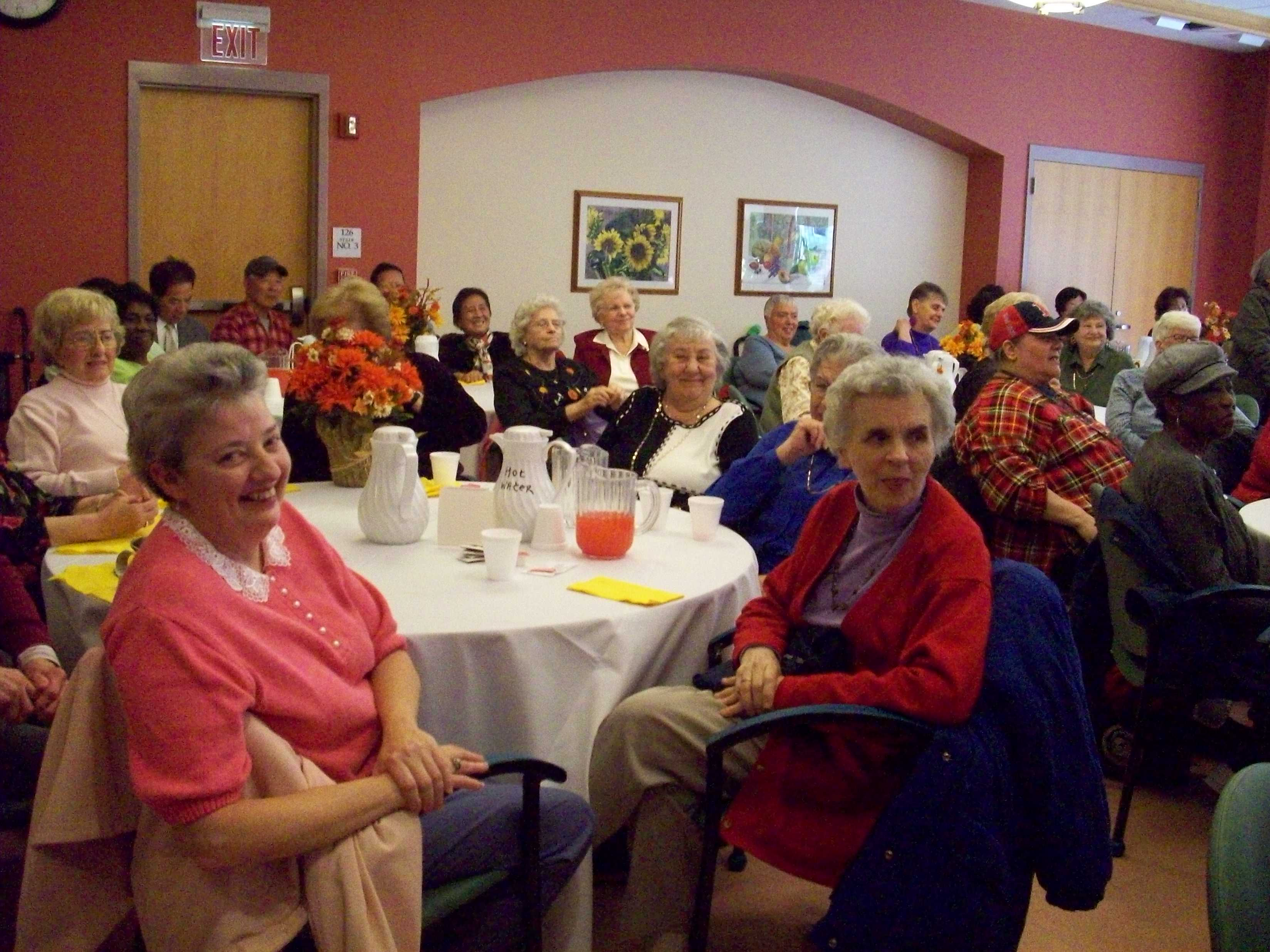 Senior Center event