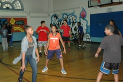 Moore Youth Center teens